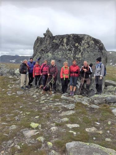 9. juli hadde Seniorgruppa tur til Fagerdalen