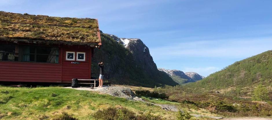 Flotte forhold for fotturer i Frafjord og Bjerkreimsheiene. Her fra vakre Støle.