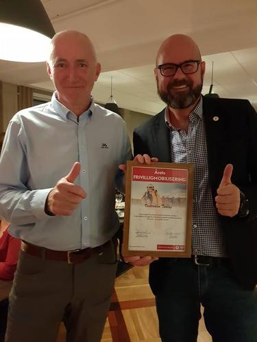 Vesterålen Turlag fikk pris for frivillighetsmobilisering