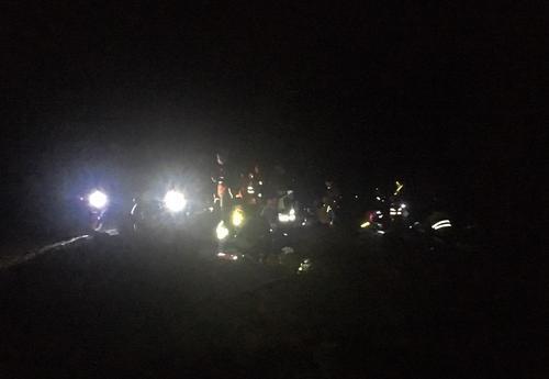 Tur til Drabo i mørket