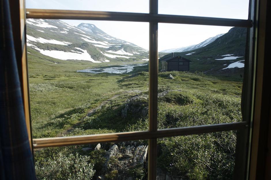 Utsikt fra Gråtådalstua