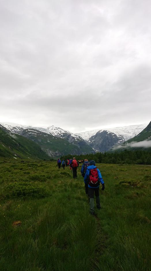 Fottur inn Langedalen