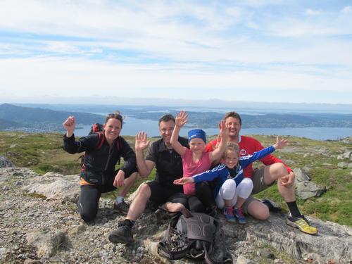4-fjellsturen 2015 UTSOLGT! Status startkort 7-fjellstur