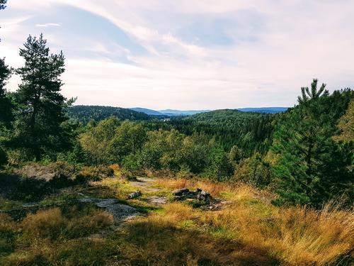 Utsikt fra Klunken mot Skapertjern