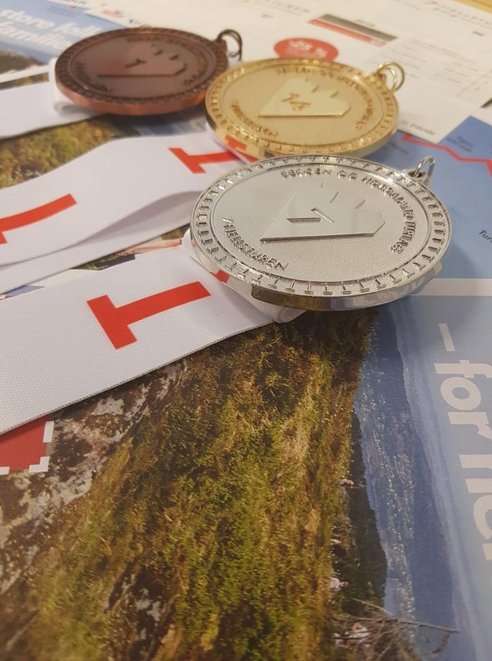 Medaljer 7-fjellsturen