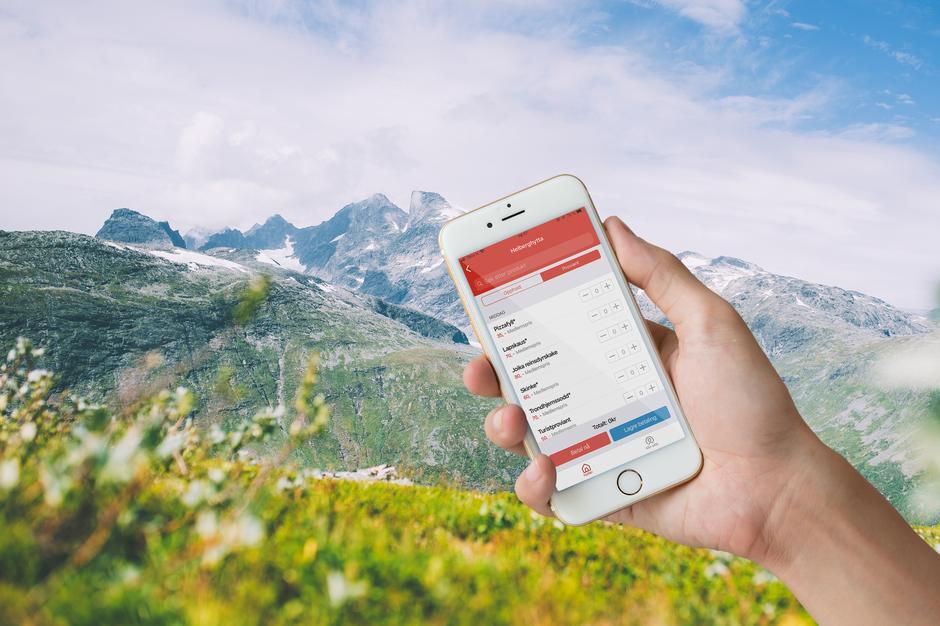 Med den nye appen vil det bli mye lettere å ha full kontroll på betaling av oppholdet!