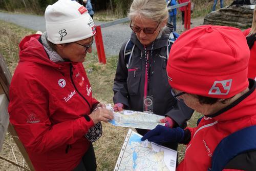 Kurs i kart og kompass i Bærum Turlag DNT
