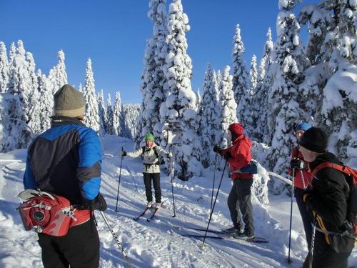 Skitur på Totenåsen, Østre Toten