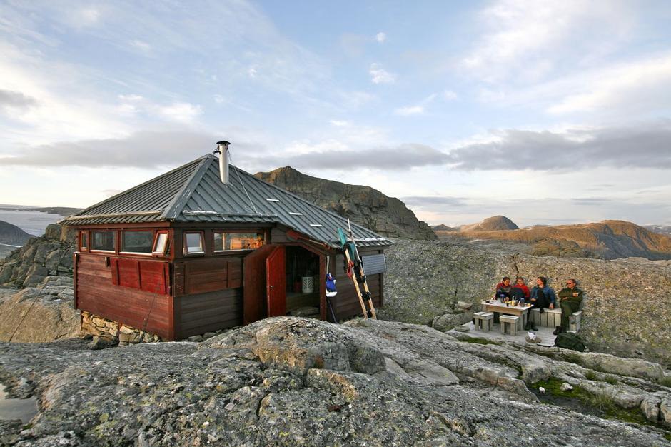 Gjegnabu er ei av hyttene til Flora Turlag