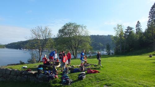 Aktivitetskveld for ungdom på Håøy