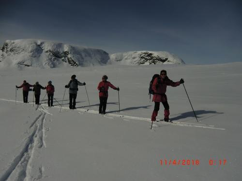 11. april hadde Seniorgruppa skitur til Stornuten
