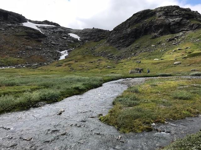 Nydelig terreng og lettgodt gjennom Grøndalen.