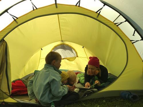 På telttur i Telemark