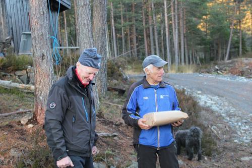 Aktiv i 100 feiret Kjell Å. Halvorsens 80 års dag