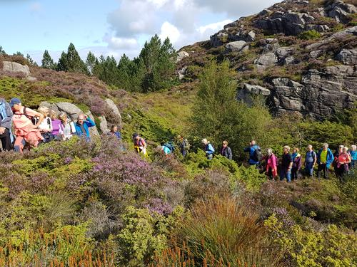 Seniortur på Lokøyna