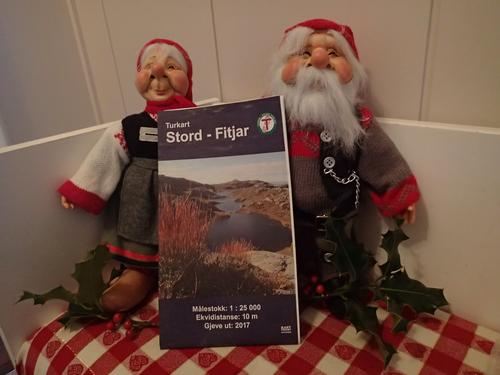 Det nye turkartet for kommunane Stord (inkl. Huglo) og Fitjar er til sals