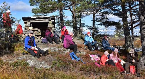 Fra tur til Risfjell 6. september