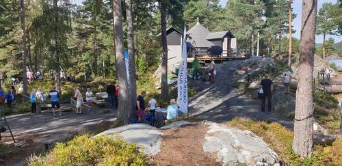 KOM DEG UT DAGEN ved Camp Skarvann 2019.