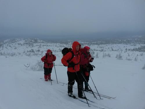 Turreferat: Skitur til Himmelsyna 26. januar 2014
