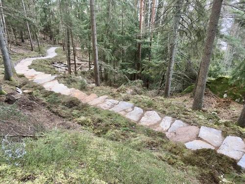 Sherpatrapper i Ås – en ny attraksjon er skapt