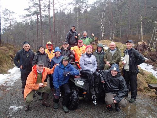 Stord-Fitjar Turlag si turgruppe hadde sin årlege vår-dugnad søndag.
