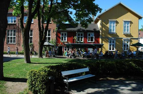 Drøbak sentrum.