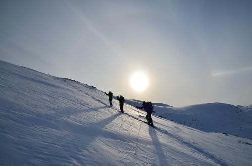 Flott søndagstur til fjellet Siriskolten, Tjeldøya.