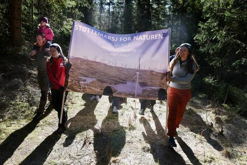 Støttemarsj for naturen