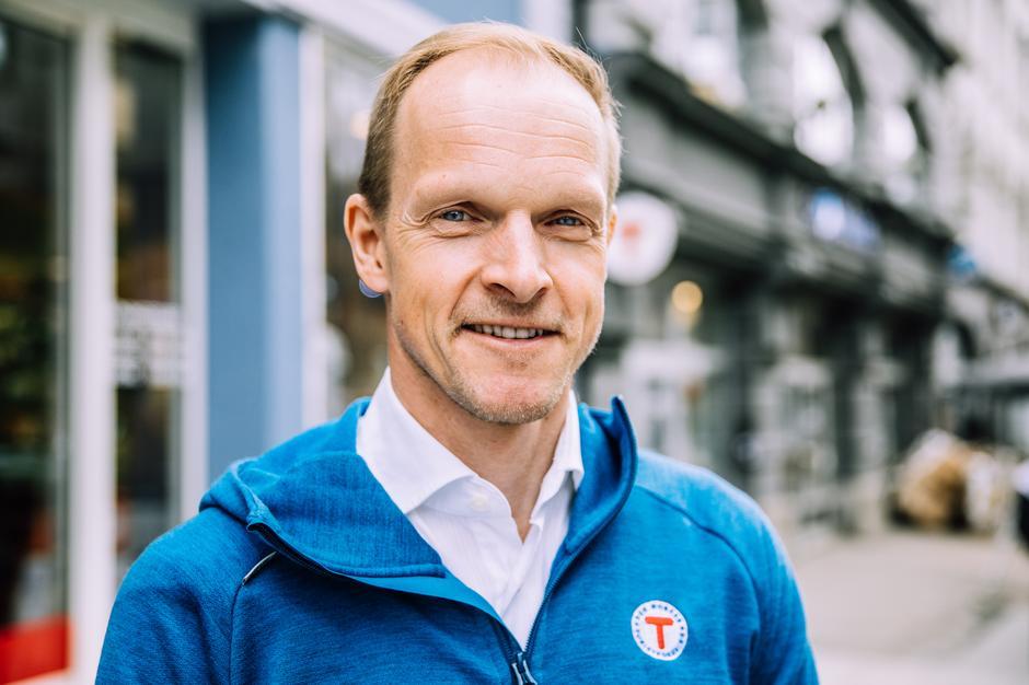 Styreleder i DNT Oslo og Omegn, Christian Reusch.