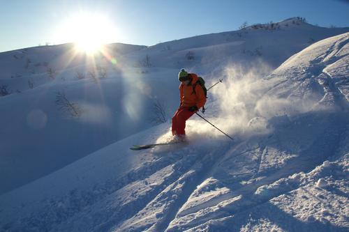 Topptur på ski til Midtfjell