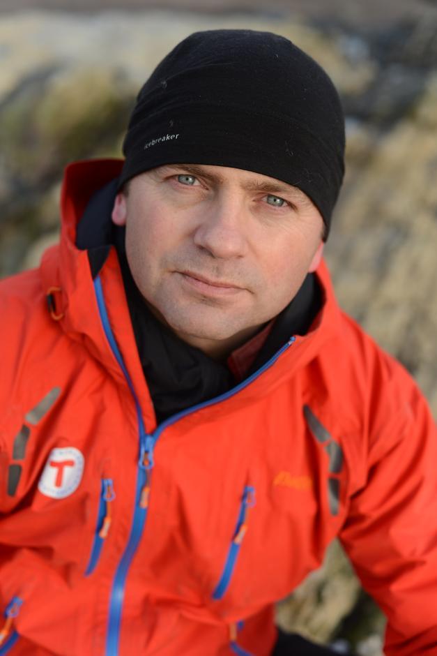 FJELLVETT: Jørgen Moland har viet livet sitt til å lære folk om fjellvett og trygg ferdsel i naturen.