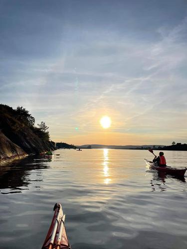 Kajakktur på Oslofjorden