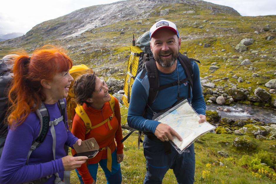 Generalsekretær Dag Terje Klarp Solvang jubler for to millioner til turportalen UT.no og muligheten for å gi enda flere gode turopplevelser.