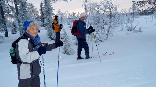 Onsdagsgruppa på ski