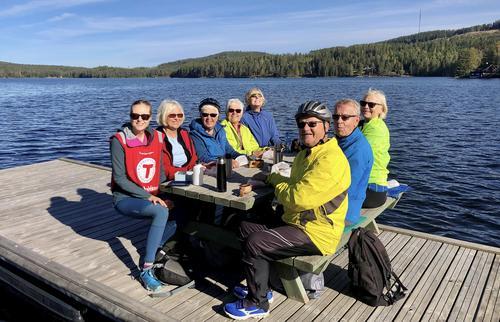 Første sykkeltur for Kongsvinger/Eidskog