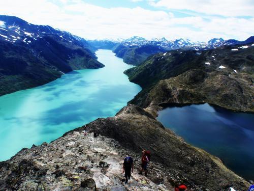Fabelartig utsikt over Besseggen. Foto: Marthe Alfredsen