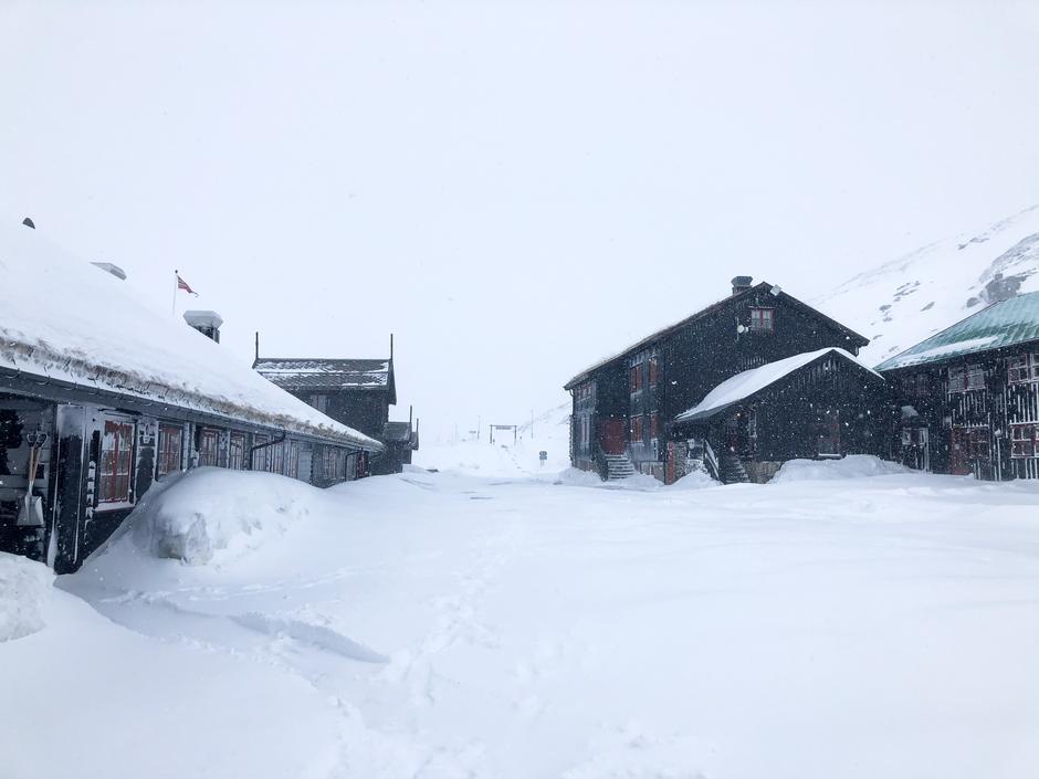 Denne uken har vi fått etterlengtet påfyll med snø