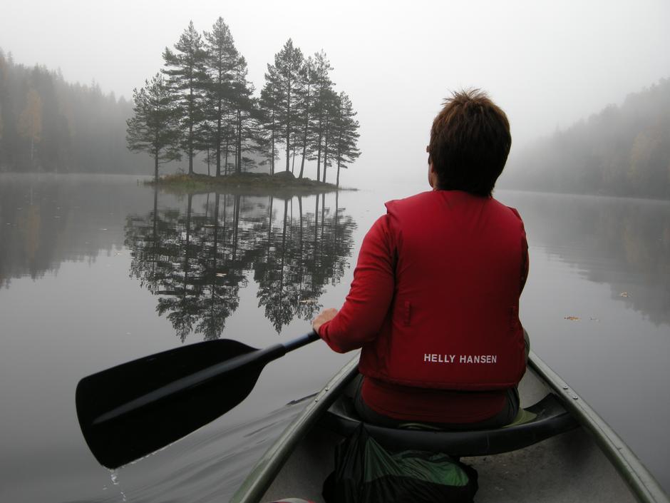 Vandregruppa, kanotur