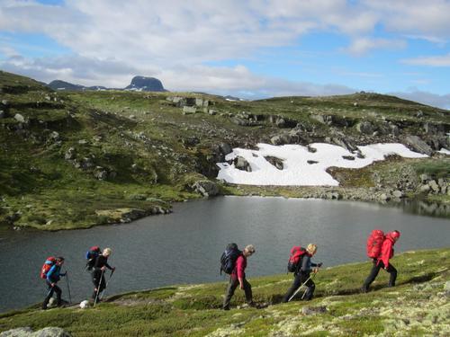Hardangervidda fra fjell til fjord