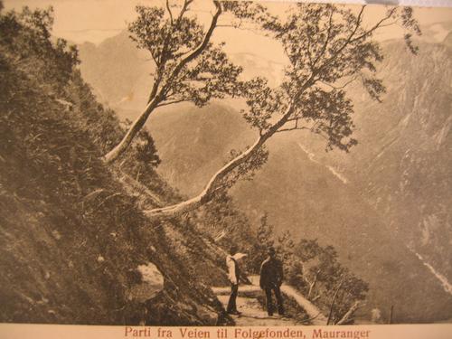 Åpning av historiske vandreruter