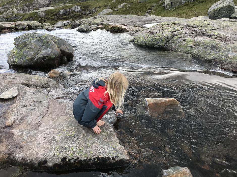 Vann og vask i Nedre Gulltjørni