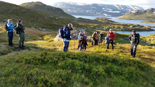 Med Telemark Turistforening til Nupseggi 4. oktober 2015