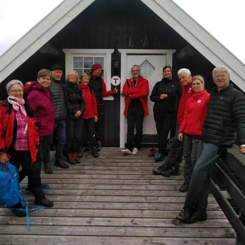 Turledersamling 2018 på Merket