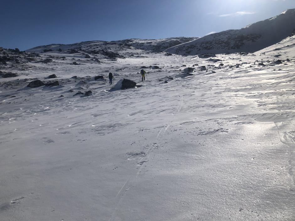 På ruta mellom Pyttbua og Veltdalen 13. mars