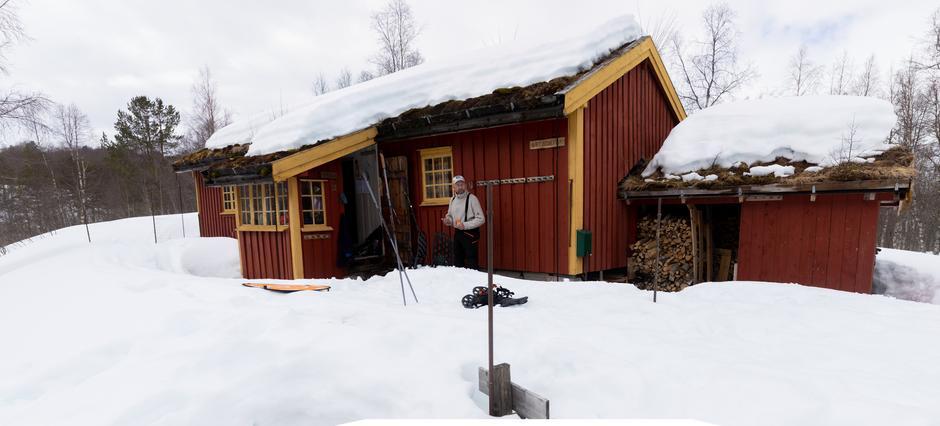 Sætersetra er en av hyttene som er ledig i påsken.