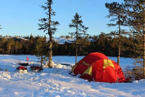 <3 Nydelig ski/pulk/telttur Svanstul i Sauheradfjellet i naturskjønne Telemark ;)