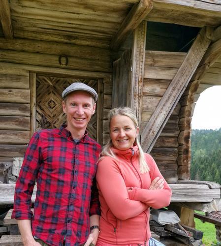Kurslederne Lars Flatø Nessa og Solvor Mowinckel Småkasin.