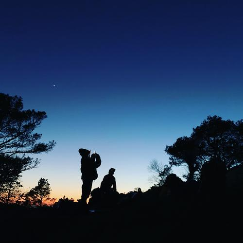 Stjerneklar himmel på Fanafjellet