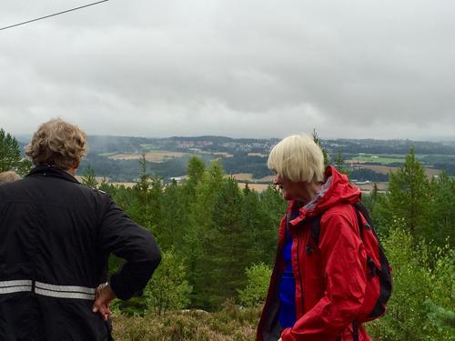 Mye fin utsikt fra Gjelleråkstoppene