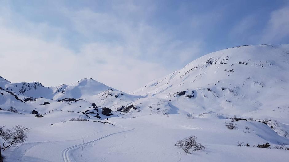 Utsikt mot Såta og Høgafjell